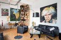 cool Paris - Rue de Thorigny Loft luxury apartment