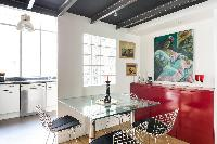 breezy and bright Paris - Rue de Thorigny Loft luxury apartment