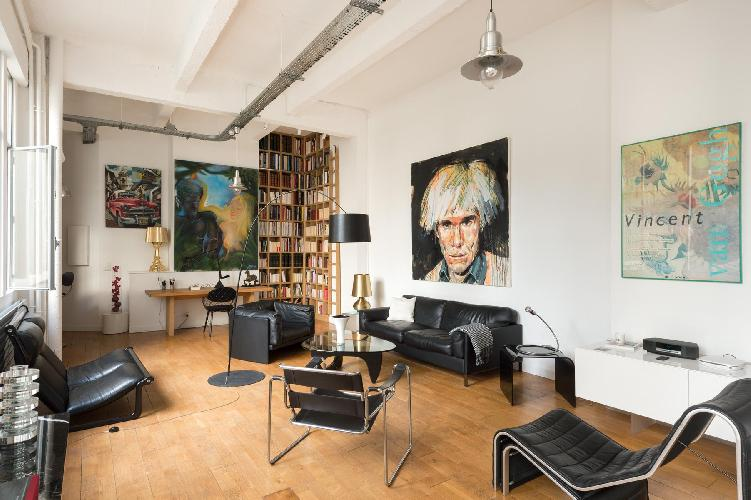 amazing Paris - Rue de Thorigny Loft luxury apartment and vacation rental