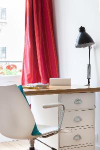 fully furnished Paris - Square Alboni luxury apartment