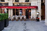 nearby cafe from a 2-bedroom Paris luxury apartment