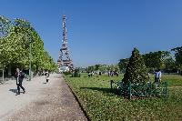 Eiffel Tower - nearby atrraction from a 2-bedroom Paris luxury apartment