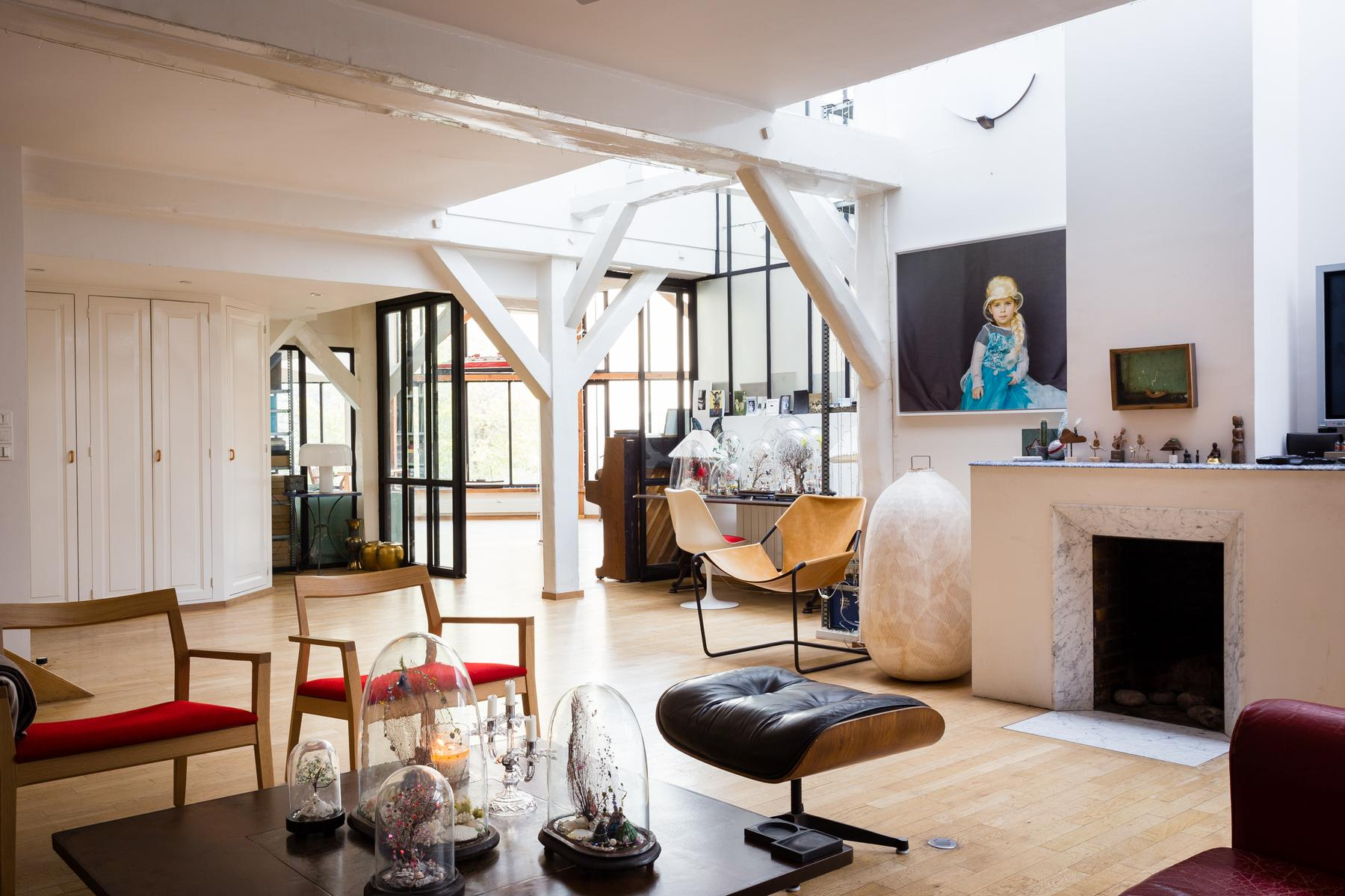 beautiful Paris - Rue Jules César Loft luxury apartment and holiday home