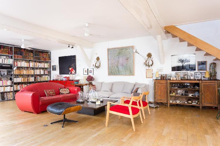 awesome multilevel Paris - Rue Jules César Loft luxury apartment