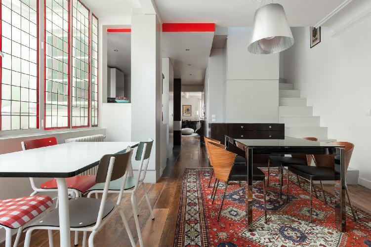 bright and breezy Paris - Rue des Belles Feuilles luxury apartment