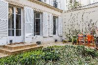 beautiful garden of Paris - Rue du Bac VI luxury apartment