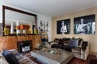 awesome living room of Paris - Rue du Bac VI luxury apartment