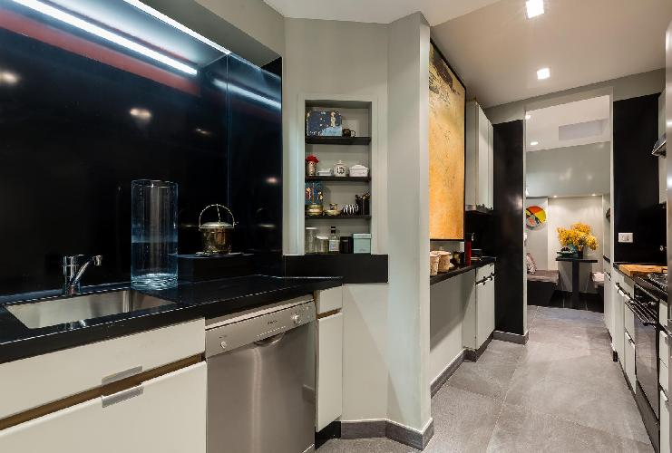 awesome kitchen of Paris - Rue du Bac VI luxury apartment