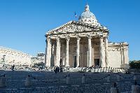Aux Grands Hommes La Patrie Reconnaissante, the Paris Pantheon nearby from Paris luxury apartment