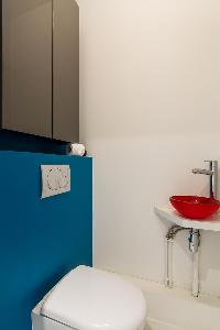nice and neat toilet and bath in Paris - Rue Notre-Dame-des-Champs II luxury apartment