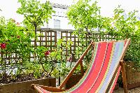 awesome terrace garden of Paris - Rue Notre-Dame-des-Champs II luxury apartment