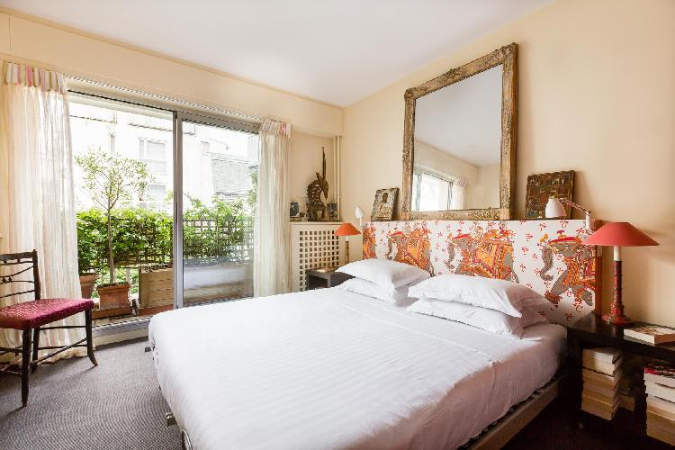 awesome access to the balcony of Paris - Rue Notre-Dame-des-Champs II luxury apartment