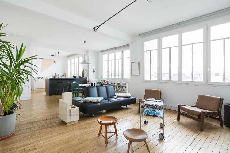 Parisian Apartment for 4 in Le Marais