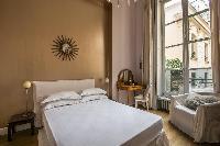 lovely bedroom of Paris - Rue du Faubourg Poissonnière IV luxury apartment