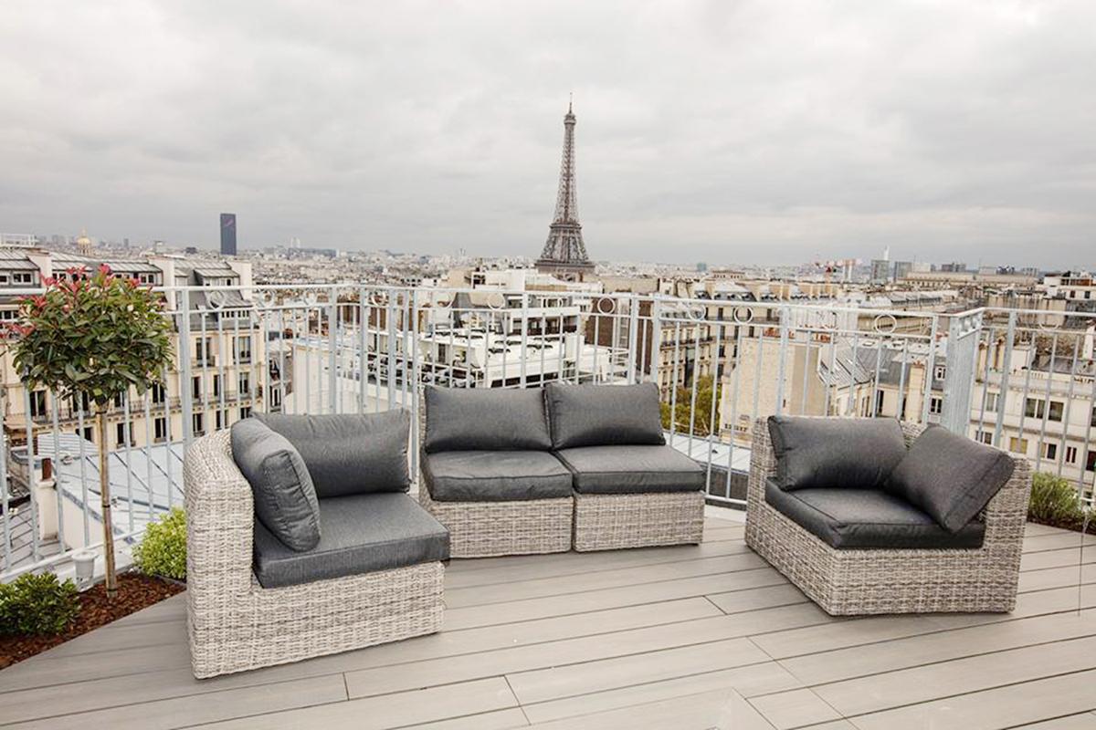 Paris - Rooftop Copernic