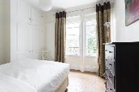 cool bedroom windows in London Colville Road III luxury apartment