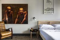 bedroom furnishings in London Albion Road luxury apartment