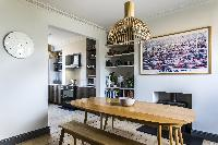 neat dining table of London Albion Road luxury apartment