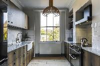 well-appointed kitchen of London Albion Road luxury apartment