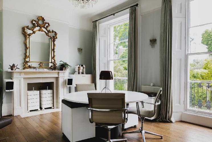 bright and breezy London Eton Villas luxury apartment in Primrose Hill