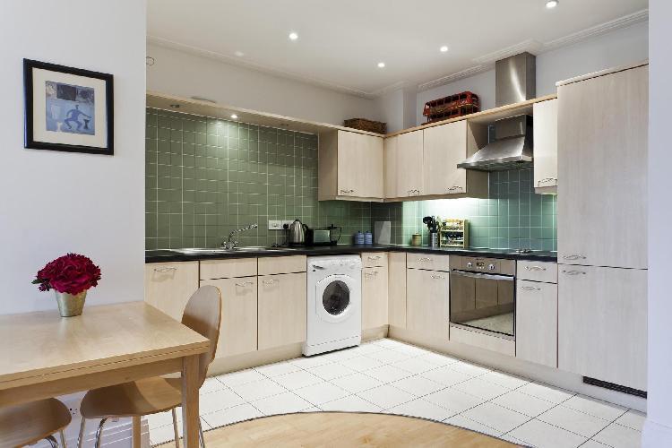 modern kitchen of London Drayton Park luxury apartment
