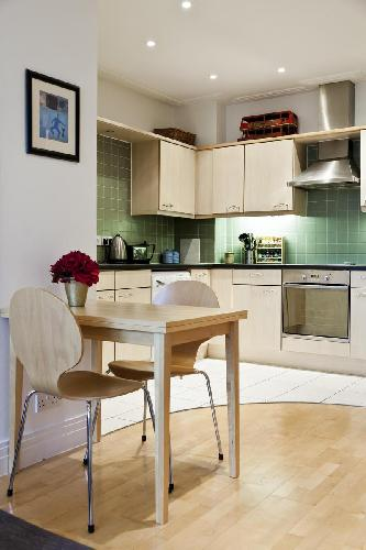 cool dinette in London Drayton Park luxury apartment