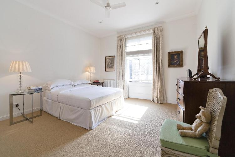 generous bedroom window in London Bassett Road IV luxury apartment