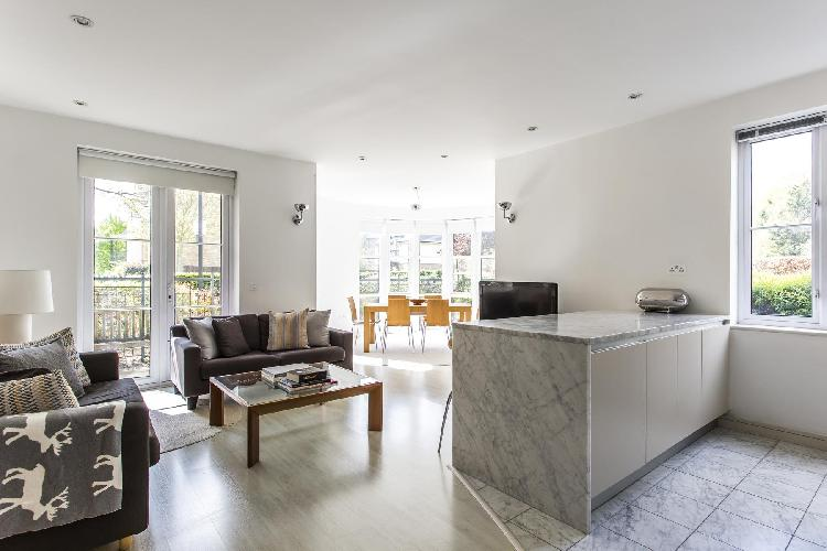 breezy and bright London Melliss Avenue luxury apartment