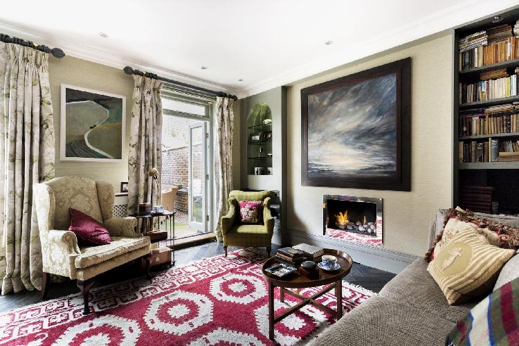charming and chic multilevel London Belgravia Place luxury apartment