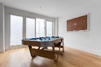 awesome game room in London Winchendon Road luxury apartment