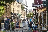cool restaurants and shops near London Winchendon Road luxury apartment