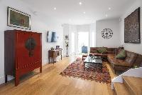 delightful sitting room of London Winchendon Road luxury apartment