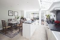amazing dining room of London Winchendon Road luxury apartment