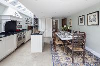 charming kitchen in London Winchendon Road luxury apartment