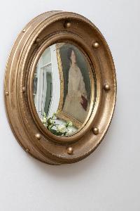 nice mirror in London Winchendon Road luxury apartment