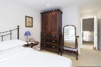 nicely furnished bedroom in London Winchendon Road luxury apartment