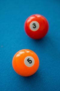 cool billiard balls in London Winchendon Road luxury apartment
