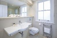 neat and fresh bathroom in London Winchendon Road luxury apartment