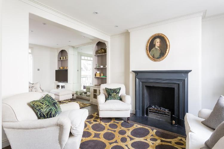 exquisite London Kinnerton Street luxury apartment and holiday home