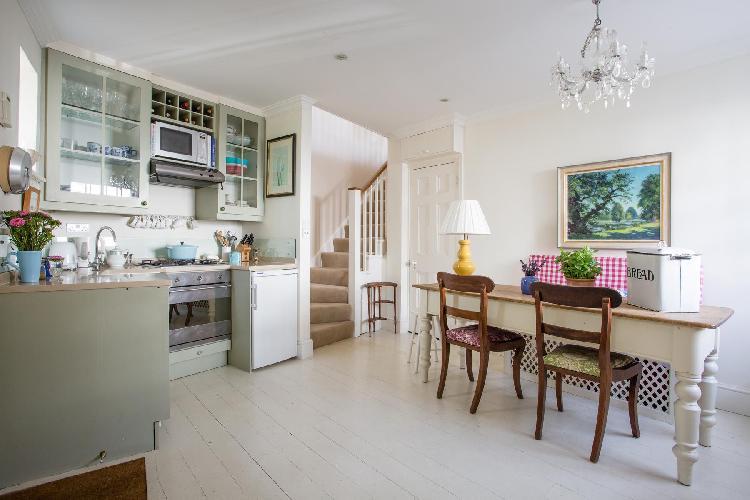 charming kitchen of London Kynance Place luxury apartment
