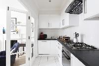 modern kitchen appliances in London Beaufort Gardens luxury apartment
