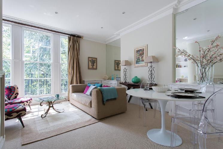 beautiful London Palace Gardens Terrace III luxury terrace and holiday home