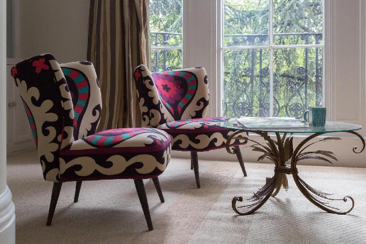 exquisite London Palace Gardens Terrace III luxury terrace and vacation rental