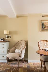 nice interiors of London St Mary's Gardens II luxury apartment