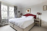 generous bedroom windows of London Albert Bridge Road II luxury apartment