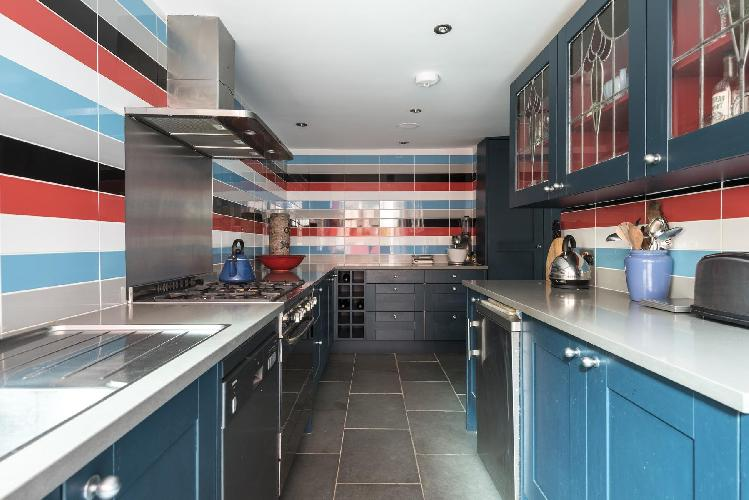 cool interiors of London Leysfield Road luxury apartment
