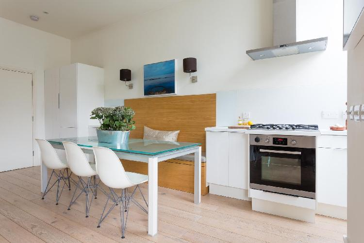 cool kitchen of London St Mark's Road IV luxury apartment