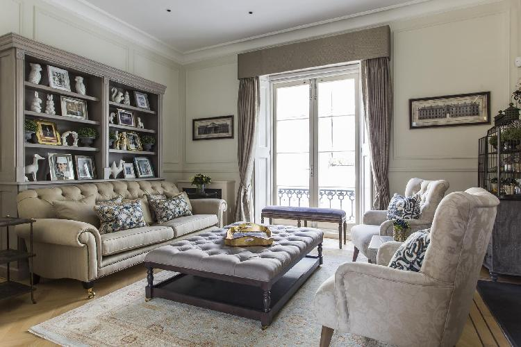 chic London Ovington Gardens luxury apartment and vacation rental