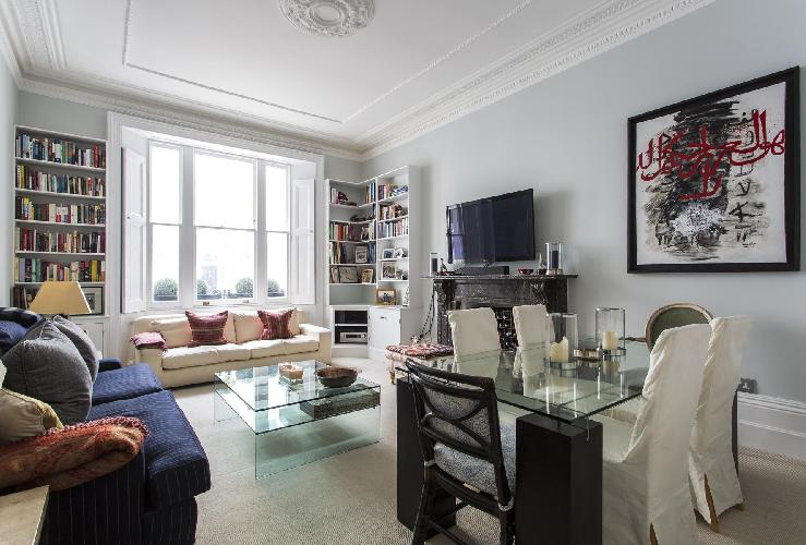 nifty and nice London Harcourt Terrace luxury apartment