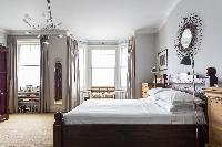 lovely bedroom windows of London Mayfield Avenue II luxury apartment